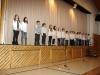 Der Chor des dritten Schuljahres
